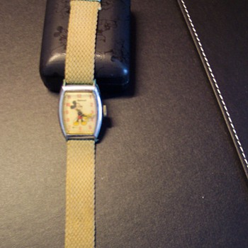 Original Mickey Mouse Wrist Watch - Wristwatches