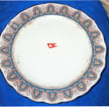 """Titanic First Class Dinner Plate-""""Large"""" Pattern - China and Dinnerware"""
