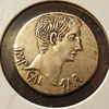 Caesar BC ancient coin....help identifying