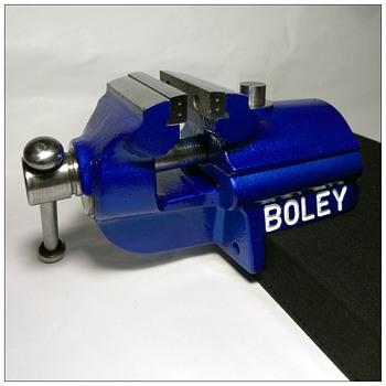 G. Boley C60 Bench Vise  - Clocks
