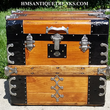 1880's Hat/Bonnet Trunk - Furniture