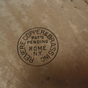 Old Revere Ware marking