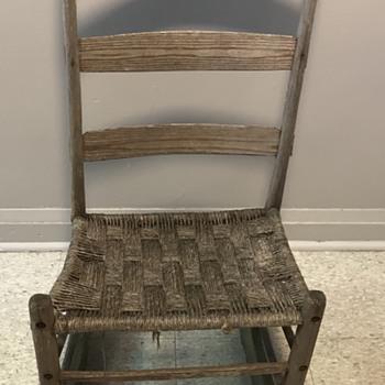Antique rocking chair. - Furniture