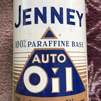 Few new oil cans  - Petroliana