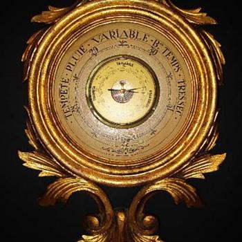 old Italian barometer - Tools and Hardware