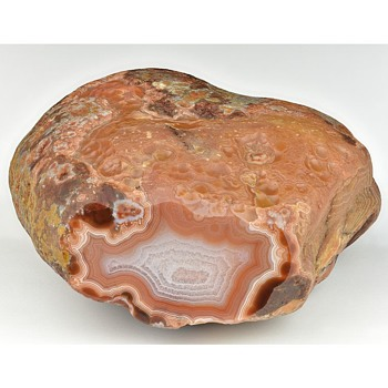 Lake Superior Agate (with a rarely seen feature) - Gemstones