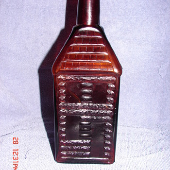 Holtzermann's Patent Stomach Bitters Bottle