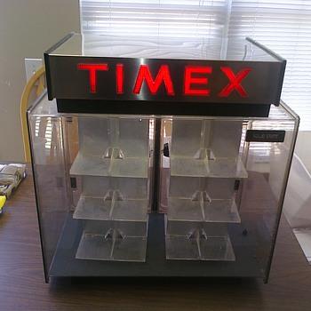 Old Timex revolving case...