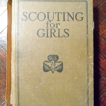 Signed by Juliette Low, 1920 Officers' Version of Girl Scouts Handbook - Books