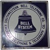 "Southwestern Bell 11x11"" sign"