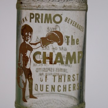 "Vintage ""Primo the Champ"" Soda Bottle? - Bottles"