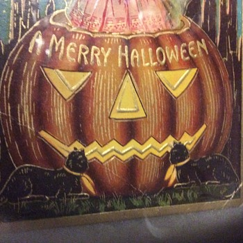 Don't put your pumpkins in the mail  - Postcards