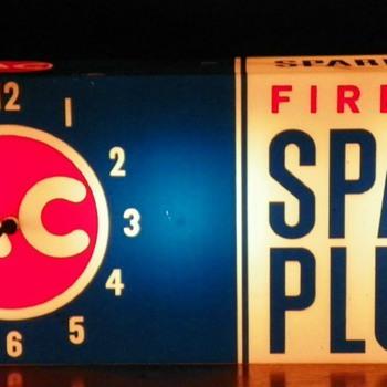 AC Spark Plug Clock - Clocks