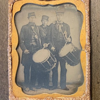 Civil War era Drummers - Military and Wartime