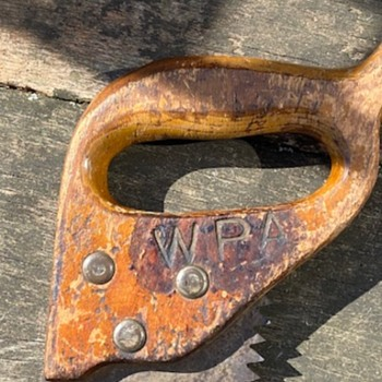 Works Progress Administration Saw  - Tools and Hardware