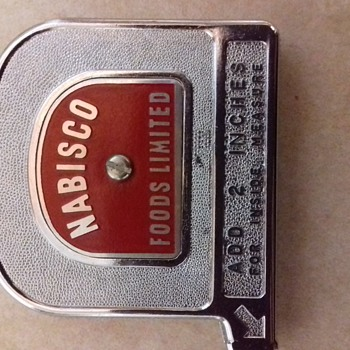 Pocket tape measure.made in canada - Advertising