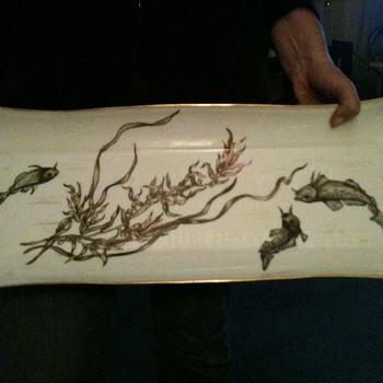 Fish Platter - origins unknown - China and Dinnerware