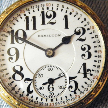Hamilton watch ?  - Pocket Watches