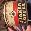 Quaker Girl coffee tin