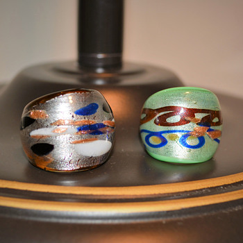 Blown Glass Rings..Should I go back Efesgirl???? - Art Glass