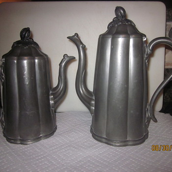 Reed and Barton Tea or Coffee pots - Silver
