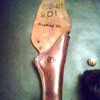 PT 2 US SADDLE LEATHER PISTOL HOLSTER - Military and Wartime