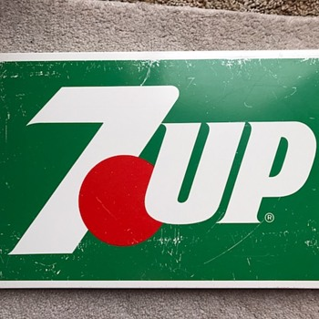 7up Metal Sign - Advertising