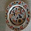very colurfull plate or dish
