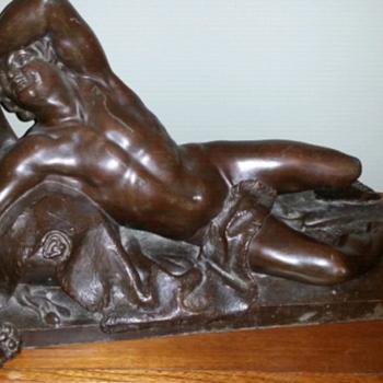 Large Bronze sculpture - Fine Art