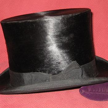 Hungarian Made Silk Top Hat - Hats