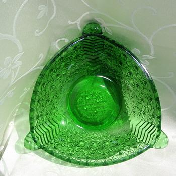 Unique Triangle Bowl - Glassware