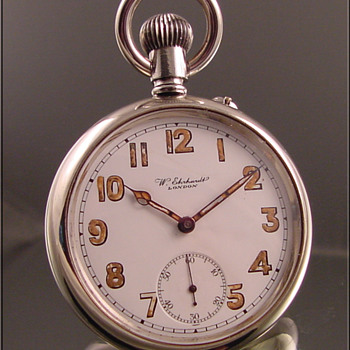 W. Ehrhardt British Military Pocket Watch c. 1900
