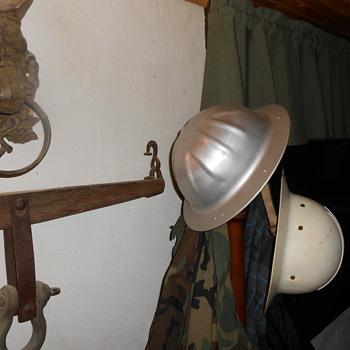 Aluminum work helmet