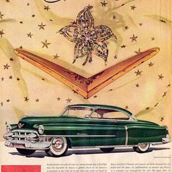 "Harry Winston and Fashion Ads For Cadillac / The ""Madmen"" Era: Advertising Mid-Century Luxury"