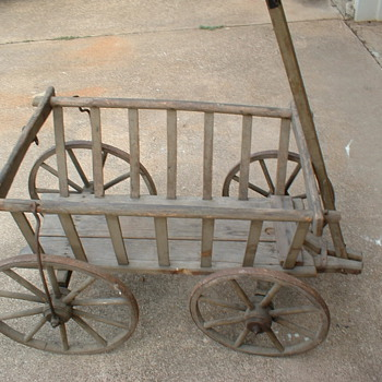 Vegetable Pull Cart