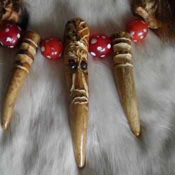 vintage native american choker - Native American