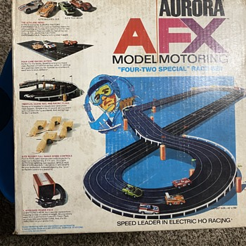 1971 Aurora AFXX Model Motoring Race Set - Model Cars