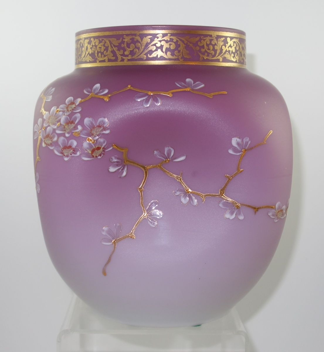 Early loetz enameled vase ca 1892 prod nr i 1808 and a early loetz enameled vase ca 1892 prod nr i 1808 and a chicago connection collectors weekly reviewsmspy