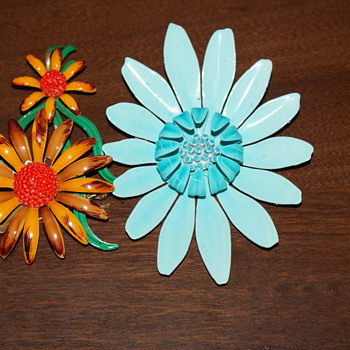 Enamel Flowers - Just for Fun - Costume Jewelry
