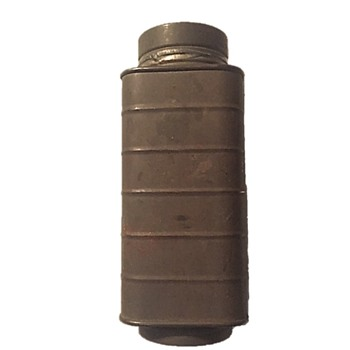 WORLD WAR I TIN CANTEEN? - DOUBLE SIDED - Military and Wartime