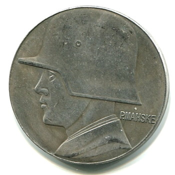 German WWI Award Medal - Military and Wartime