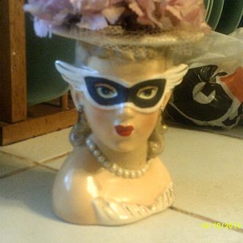 Head Vase - Pottery