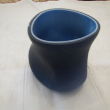Midnight Blue cased glass - Art Glass