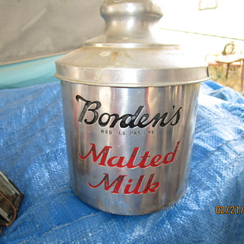 SODA FOUNTAIN  CONTAINER - Advertising