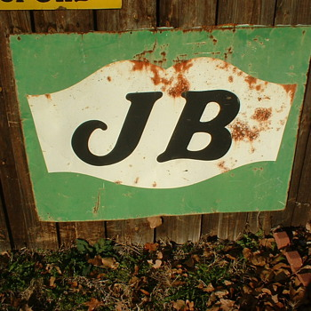 J B sign - Signs