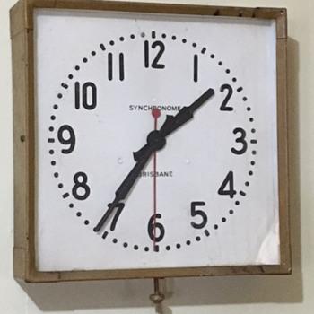 Synchronome Electric Slave Clock - Clocks
