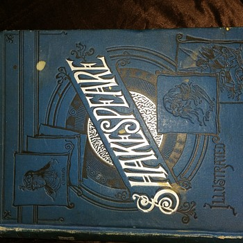 Shakespeare Art Edition 1889 signed by William J Young