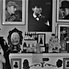 My Sherlock Holmes Room In Black And White