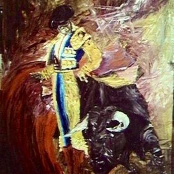"""""""Bull Fighter""""  - Fine Art"""