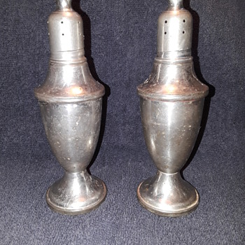 WEB PEWTER salt/pepper set - Kitchen